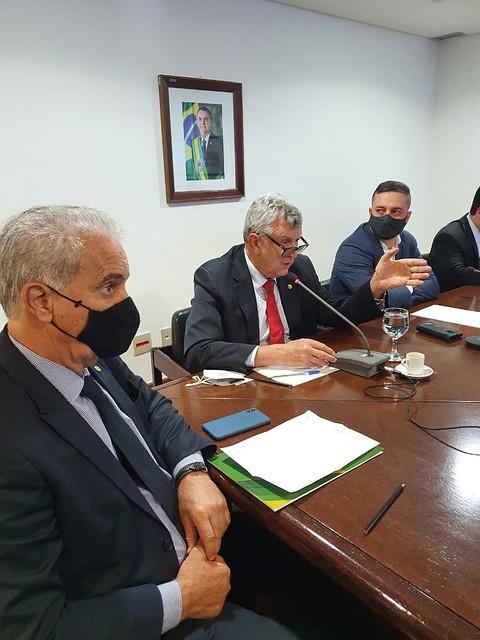 01/06/2021 Reunião com Casa Civil, Ministério de Ciência e Tecnologia e Anvisa - Pauta: fabricação de vacinas