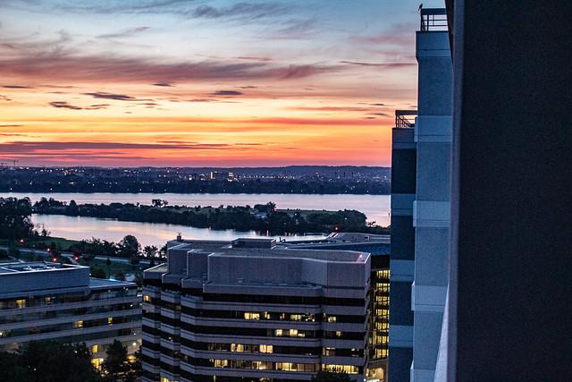 Cloudy Sunrise over Potomac