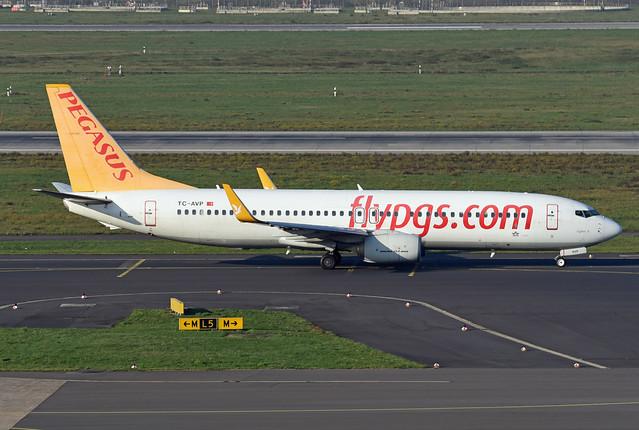 Pegasus Asia Boeing 737-82R(WL) TC-AVP