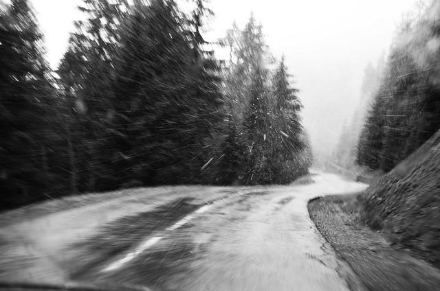 En route...  -  On road...