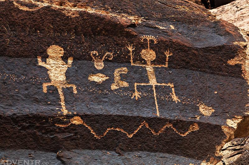 Right Side Petroglyphs