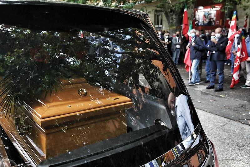 Commemorazione laica dell'ex segretario generale della Cgil, Guglielmo Epifani