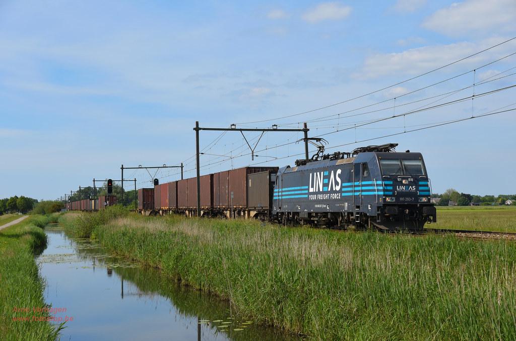2021 | Lineas 186 293 te Schalkwijk by Arno Verhagen