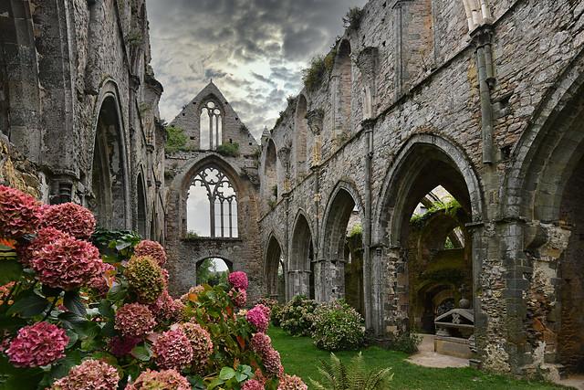 France - Bretagne - Abbaye de Beauport