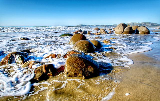 The Moeraki Boulders. NZ