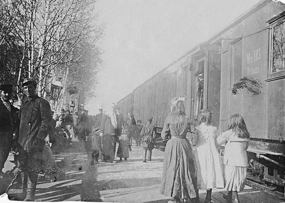 На станции Данилов