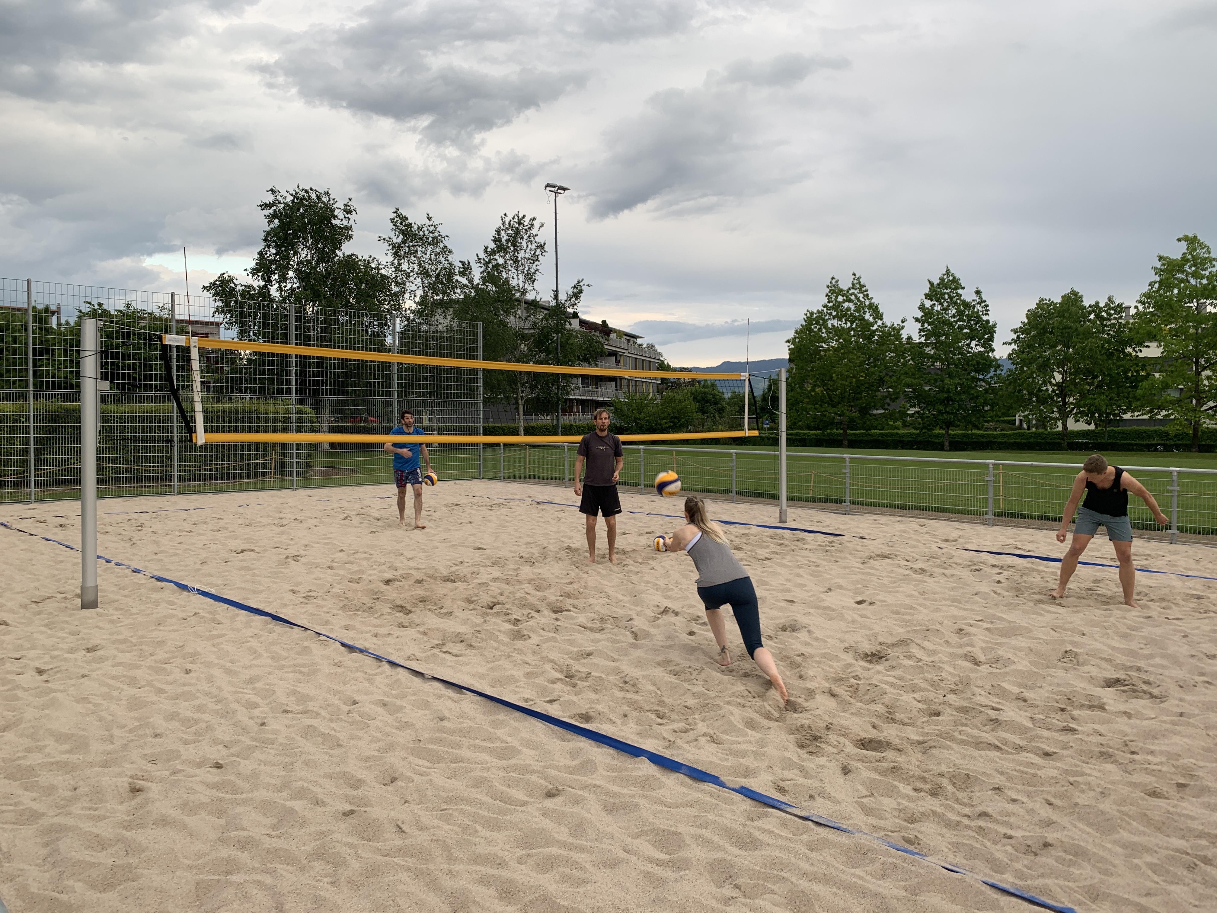Neue Beachvolleyball Anlage 2021