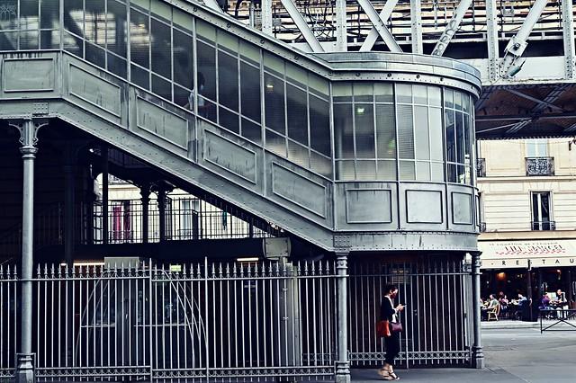 Quai de la gare - Ballade à Paris (série)