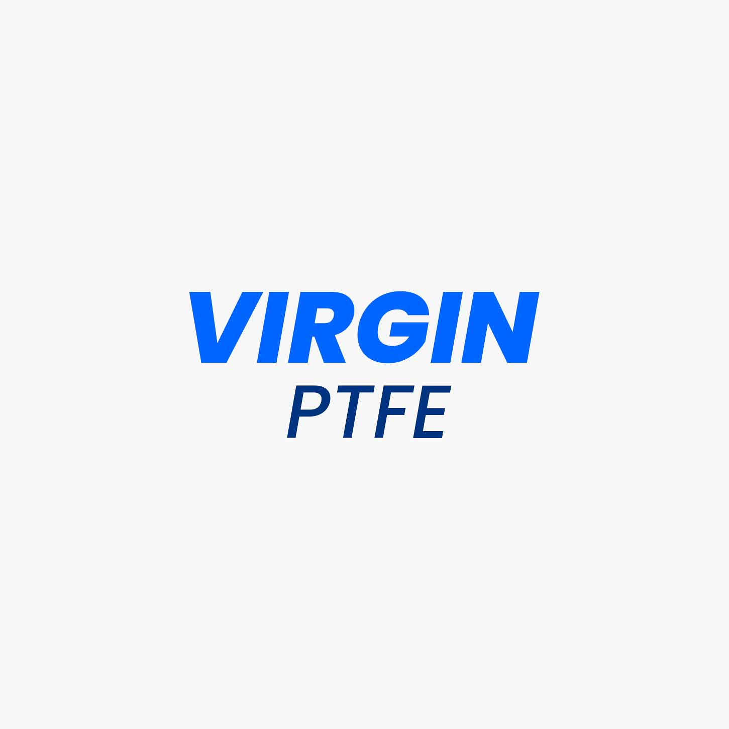 Virgin PTFE grade material is created from pure resin of PTFE without adding any other material. It is one of the most inert materials, that is used in various industrial applications. Because of the chemical structure of the PTFE polymer, the fluorine atoms form a homogenous sheath around carbon atoms, thereby aiding the polymer with chemical resistance and stability. Virgin PTFE is mostly used for the components where temperature and chemical resistance is important instead of mechanical properties.