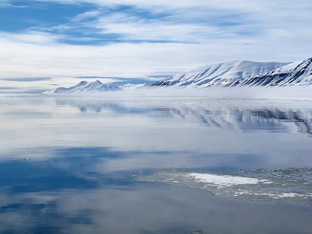 Ekmanfjord and Mountains