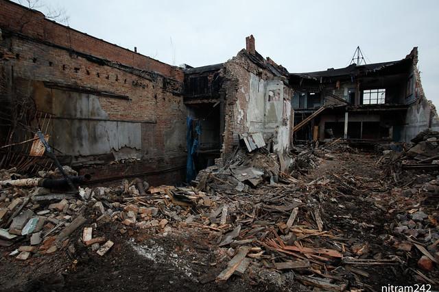 Gary Indiana Broadway Department Store Demolition