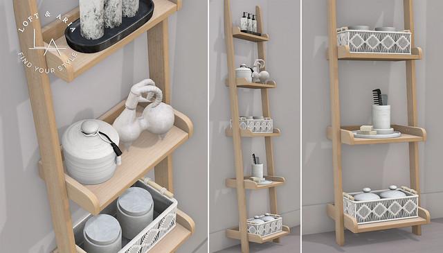 Loft & Aria - Naveen Bathroom Shelf