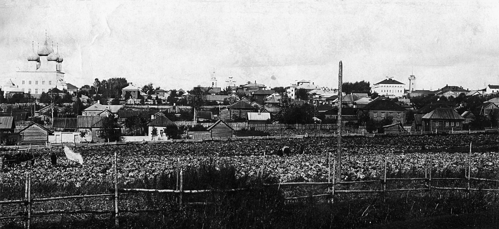 Вид на город с юго-востока