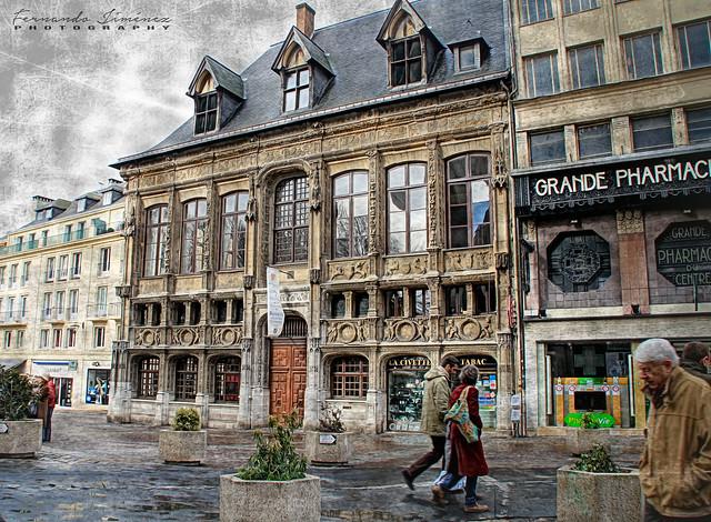 Paseando por Rouen/Strolling through Rouen