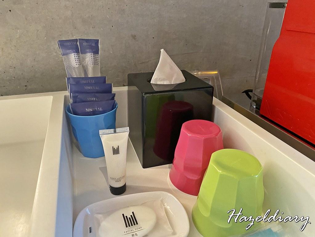 M Hotel Singapore- Loft Gallery Room Amenities