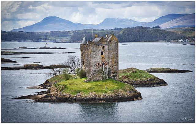 Castle Stalker, Portnacroish, Appin. Scotland.