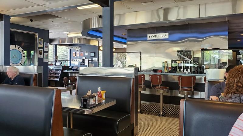 Blue Plate DIner Interior, Middletown, RI