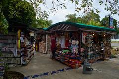 Little plaza in Playa del Carmen, Quintana Roo, Mexico