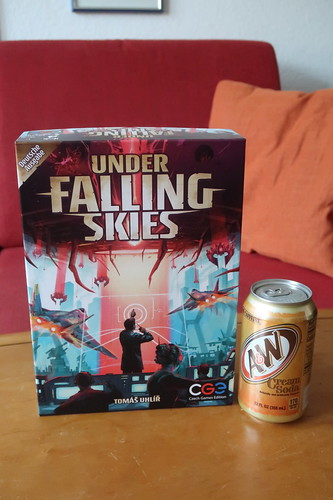 """""""Cream Soda"""" von A&W zum Solo-Spiel """"Under Falling Skies"""""""