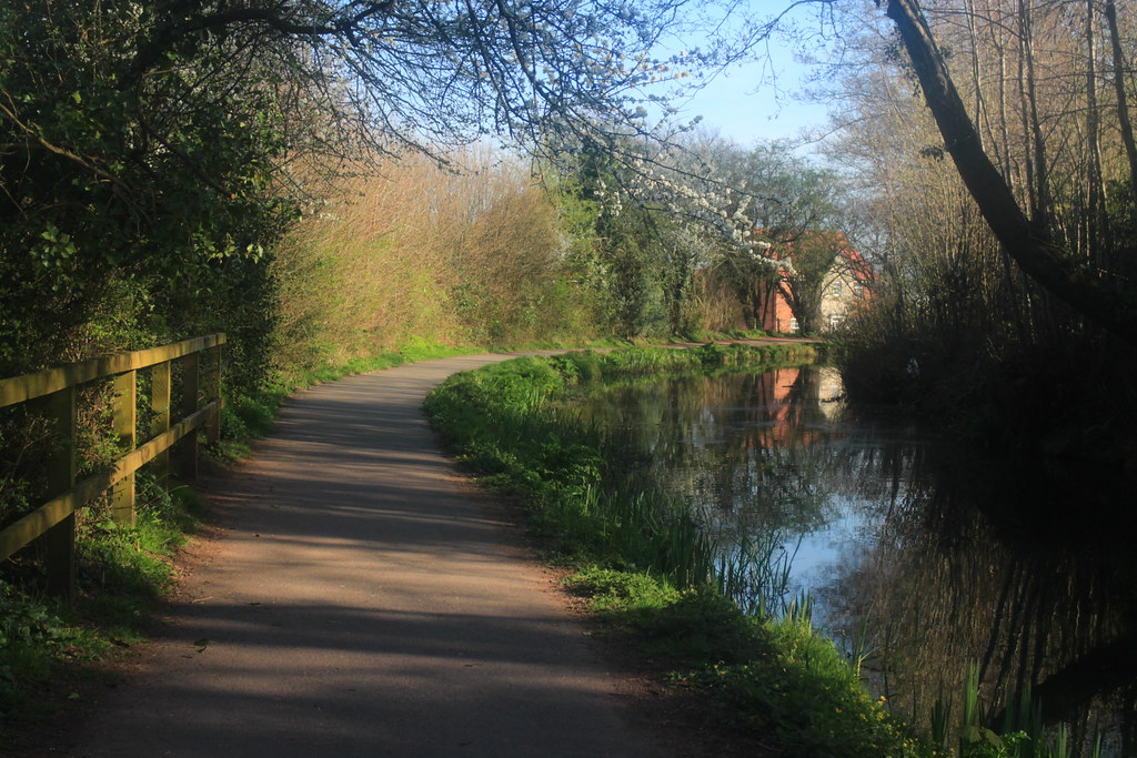 Spring evening on the Canal