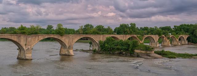 Interurban  RR Bridge Waterville Ohio