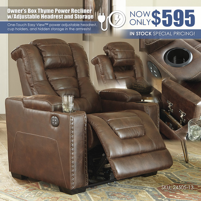 Owners Box Thyme Power Recliner2_24505-13_Update