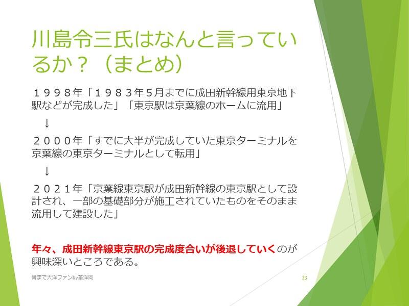 京葉線東京駅の登記と成田新幹線東京駅 (23)