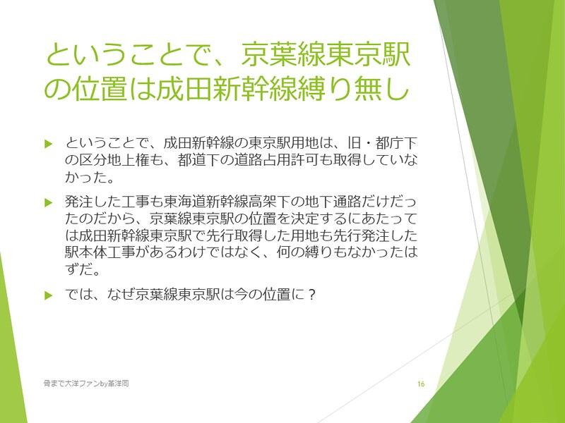 京葉線東京駅の登記と成田新幹線東京駅 (16)