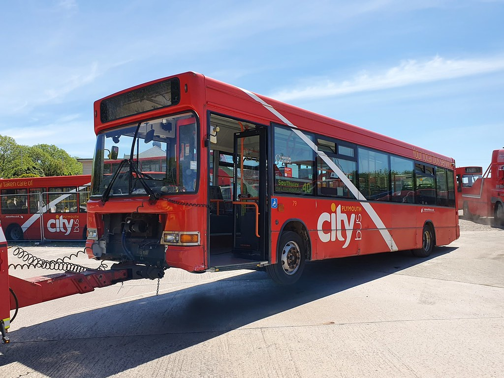 Plymouth Citybus 0079