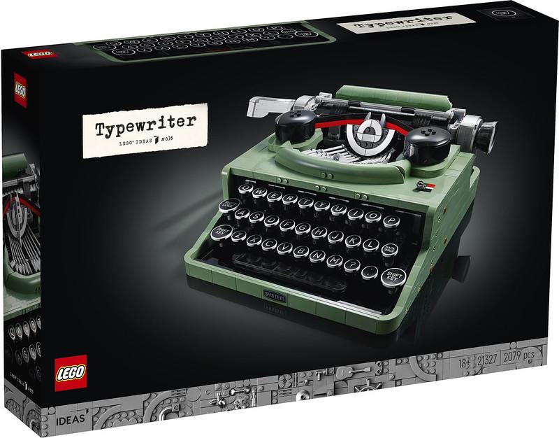 21327: LEGO Ideas Typewriter