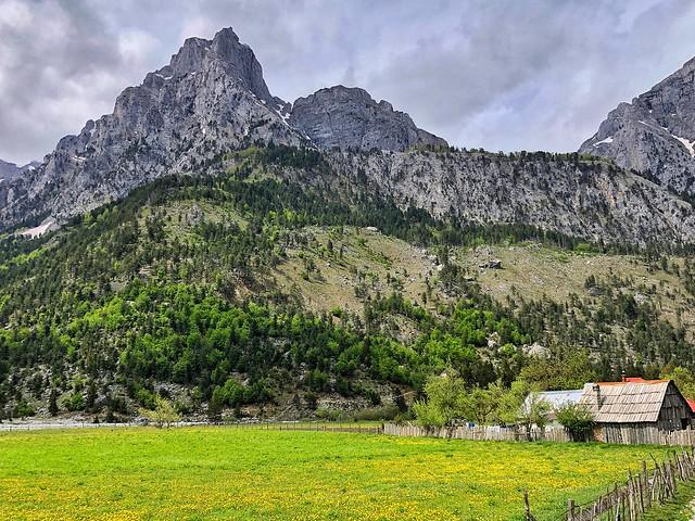 Valle de Valbona (Albania)