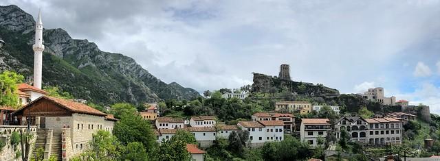 Panorámica de Kruje, uno de los imprescindibles que ver en Albania