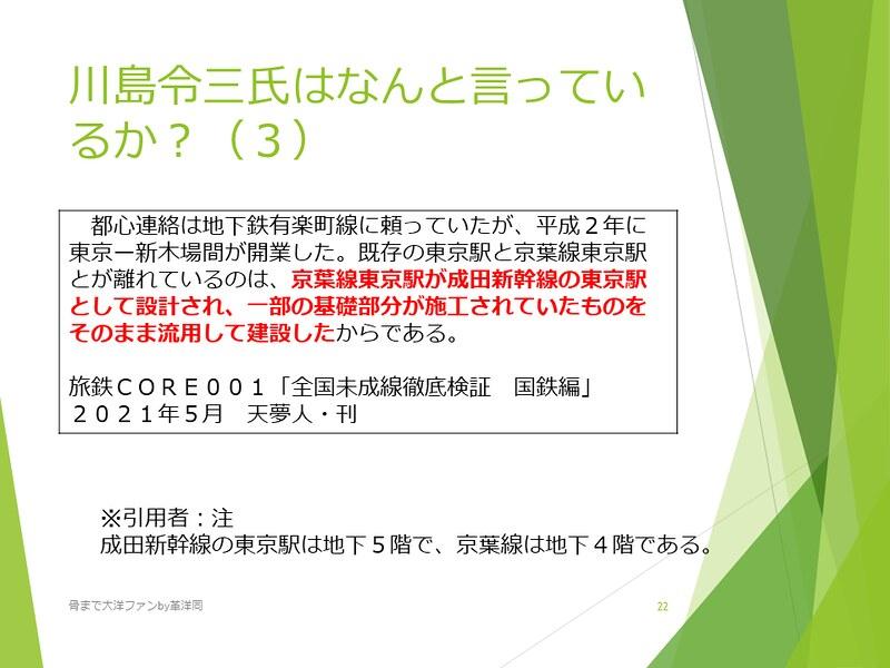京葉線東京駅の登記と成田新幹線東京駅 (22)