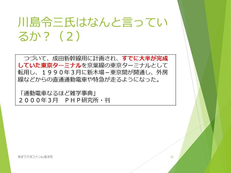 京葉線東京駅の登記と成田新幹線東京駅 (21)