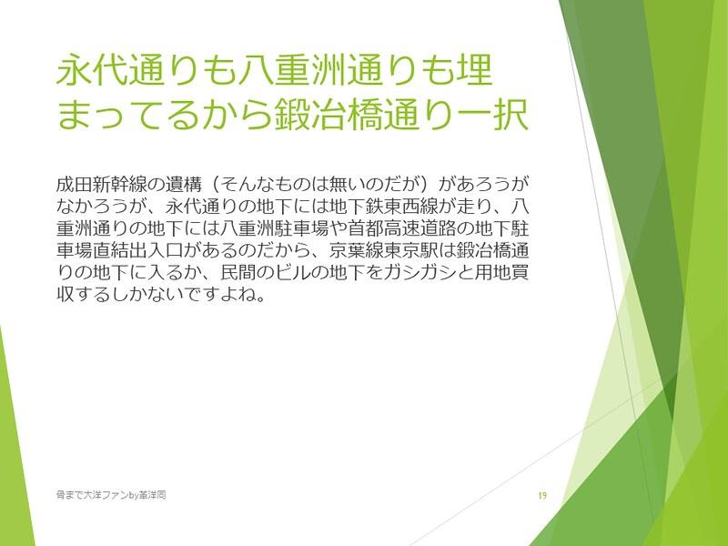京葉線東京駅の登記と成田新幹線東京駅 (19)