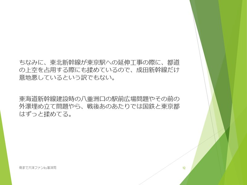 京葉線東京駅の登記と成田新幹線東京駅 (12)
