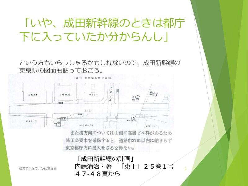 京葉線東京駅の登記と成田新幹線東京駅 (8)