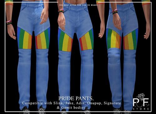 ::PCF:: PRIDE PANTS.