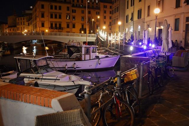 Livorno, Scali delle Ancore, nel quartiere della Venezia