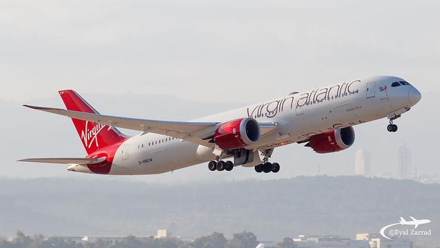 TLV - Virgin Atlantic B789 G-VNEW