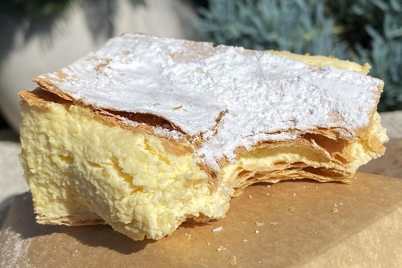 Vanilla slice: High Street Bakery