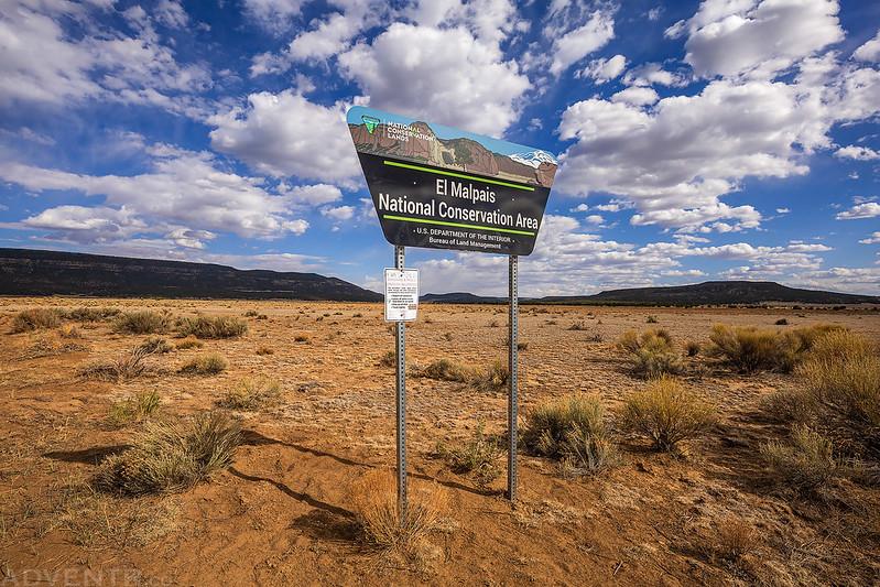 El Malpais National Conservation Area Sign