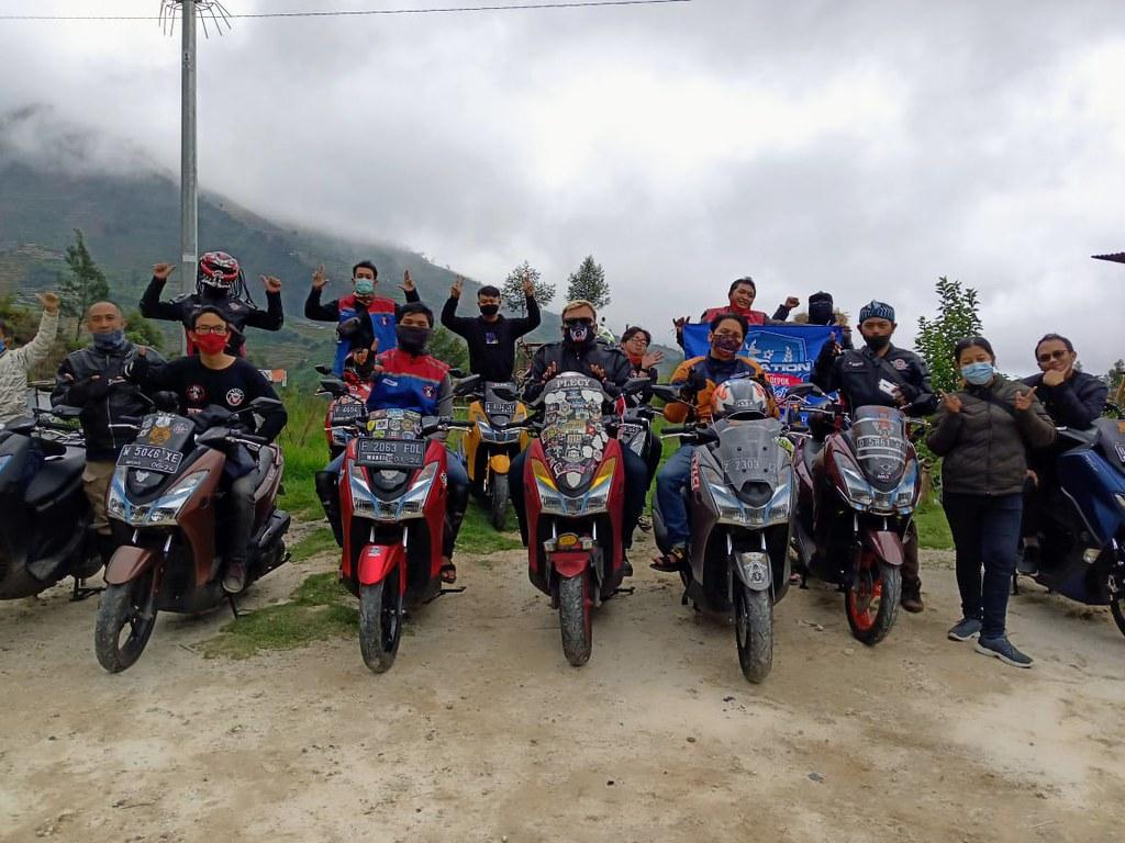 Komunitas MAXI Yamaha Jawa Tengah Touring Kuliner dan Wisata Pegunungan