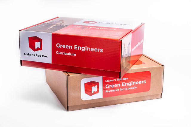 Maker's Red Box Green Engineers