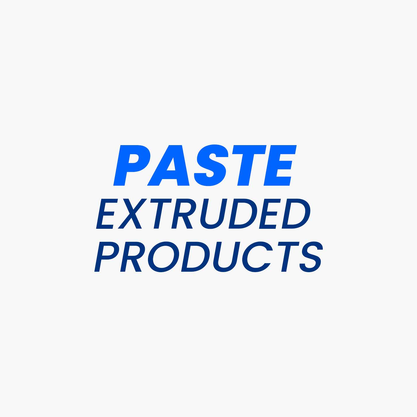 Products manufactured by Paste extrusion technology enables Vimal Polymers to broaden the PTFE product line with additional designs and profiles. In this manufacturing method, very close process control of the PTFE grain size range is maintained. For the paste extrusion process, the extrudable PTFE fine powders are blended with a volatile lubricant (hydrocarbon) for preparing the paste, which is then pre-pressed and filled in a PTFE paste extruder. The preform paste is compressed in a cold or in the preheated stage through a die. The part obtained is separated from the lubricant, followed by the sintering process.