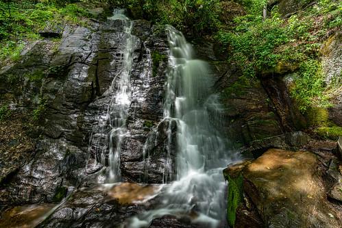 usa landscape 2021 nature northcarolina juneywhankfalls brysoncity unitedstates may unitedstatesofamerica waterfall