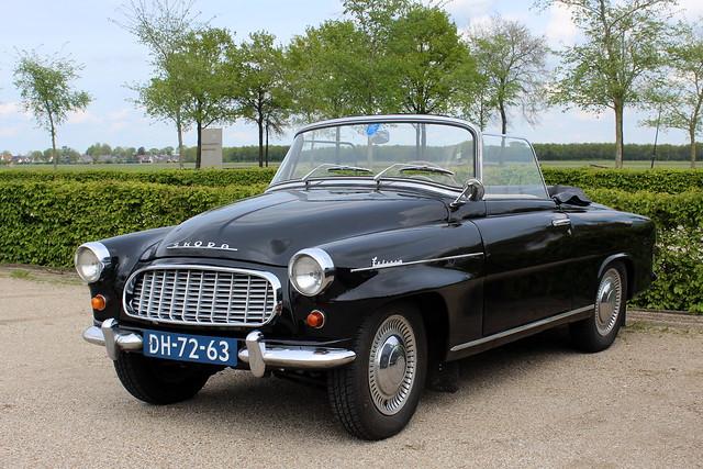 1960 Skoda Felicia convertible