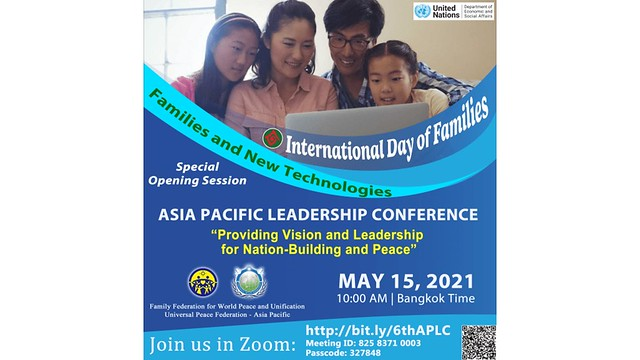 Thailand-2021-05-15-UPF-Asia Pacific Observes International Day of Families
