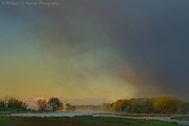 Big Fog at Sunrise