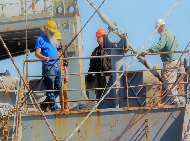 Richmond~~work crew on Red Oak Victory